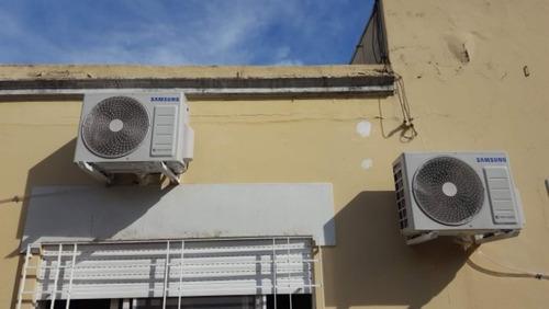 instalación aire acondicionado splip matriculado