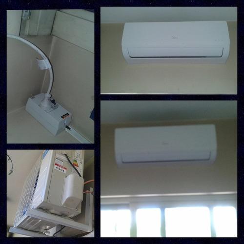 instalación aire acondicionado split, $1500, carga de gas