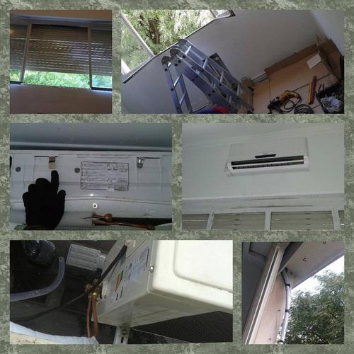 instalación aire acondicionado split, $2000, carga de gas