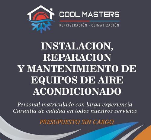 instalacion aire acondicionado split la plata matriculado