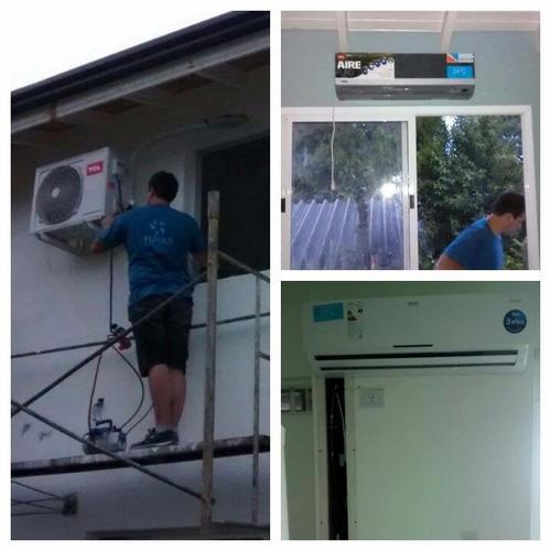 instalación aire acondicionado split matriculado 2 años gtia