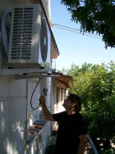 instalación aire acondicionado split matriculado.