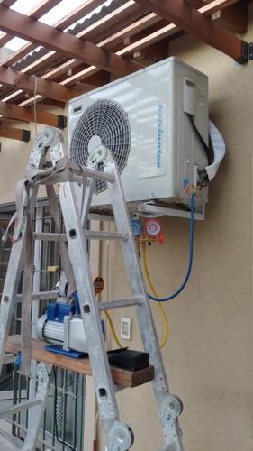 instalacion aire acondicionado split matriculado!