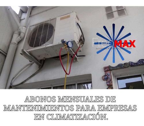 instalacion aire acondicionado split matriculado