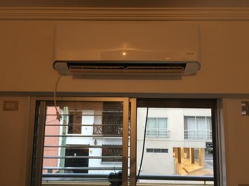 instalacion aire acondicionado split; piso techo; preinstal