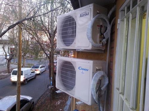 instalacion aire acondicionado split. service oficial fact a