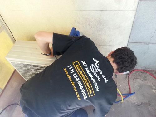 instalacion aire acondicionado split. service. tecnico utn