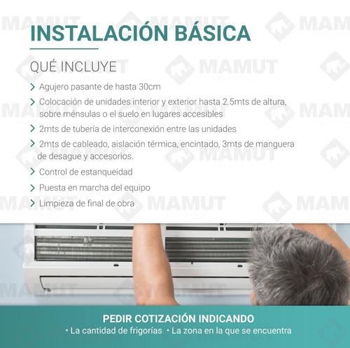 instalacion aire acondicionado split tarjeta mp zona sur