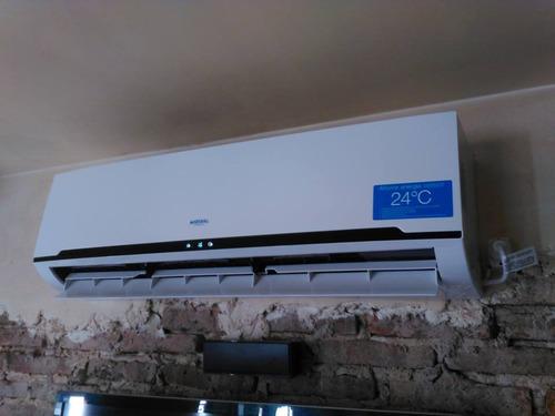 instalacion aire split carga gas reparación  la plata