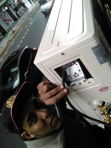 instalación aire split por frigoria.carga y mantenimiento
