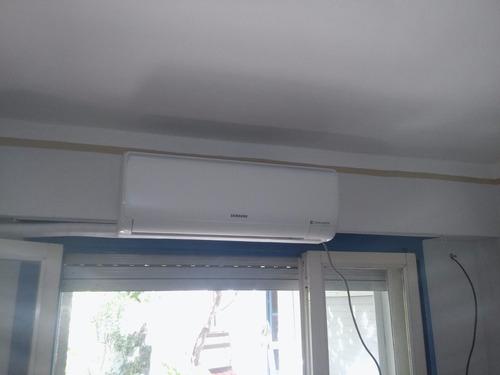 instalacion  aires acondicionados con 3 metros de caño.
