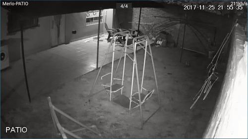 instalación alarma domiciliaria - cámaras seguridad técnico