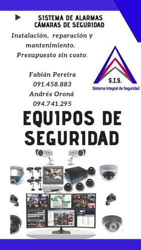 instalación alarmas y camaras de seguridad