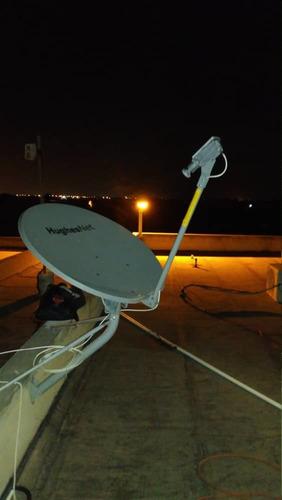 instalación antenas satelitales