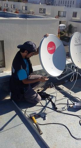 instalación antenas satelitales (amazonas, directv y más)