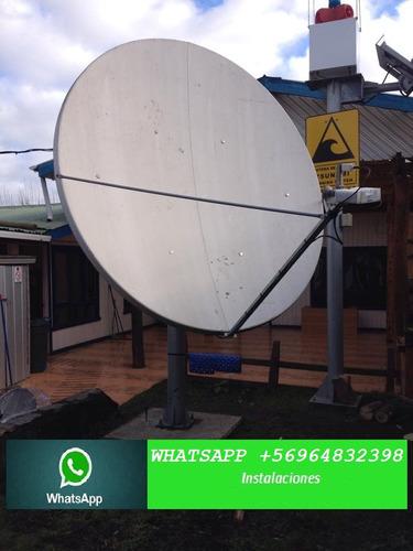 instalacion  antenas satelitales temuco