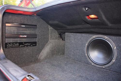 instalacion audio stereo potencia parlante gps pantalla dvd