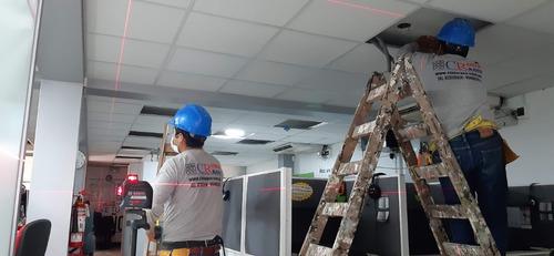 instalación-baldosas-cielo raso-s/.45.00m2 954082855 drywall