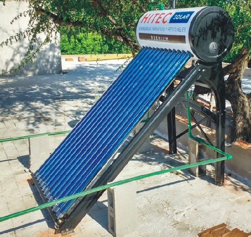 instalación básica de termotanque solar atmosférico