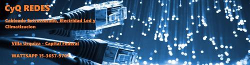instalacion cableado redes y electricidad economica!!