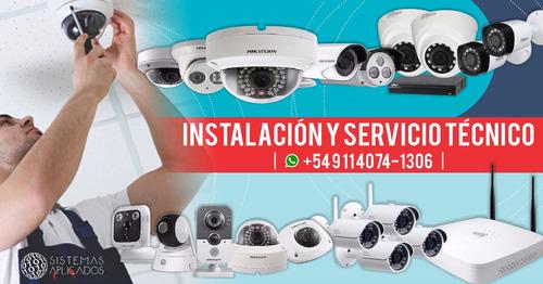 instalacion camaras de seguridad cctv video vigilancia