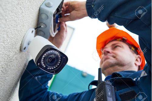instalacion camaras de seguridad dahua hikvision cctv ip dvr