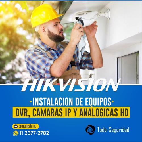 instalacion camaras de seguridad hikvision dahua cctv ip dvr