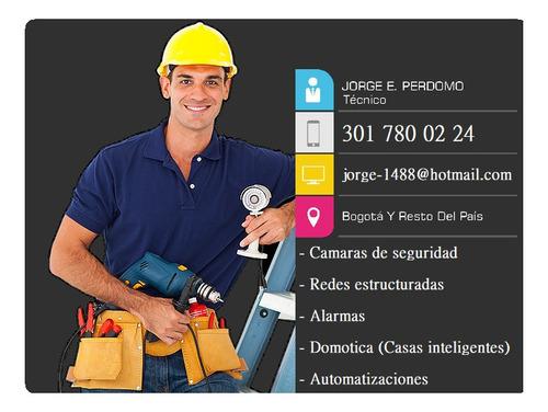 instalación cámaras de seguridad mantenimientos