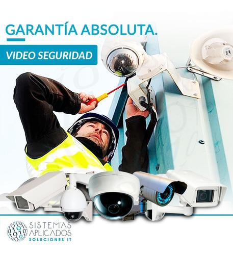 instalación camaras de seguridad - servicio mantenimiento