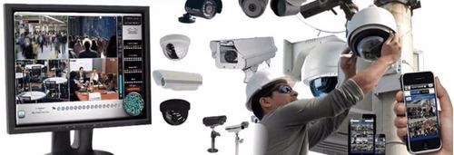 instalación cámaras de seguridad y alarmas
