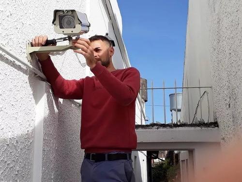 instalación cámaras de seguridad y configuración cctv redes