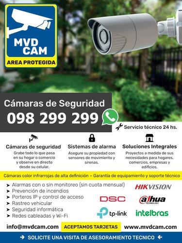 instalación cámaras de seguridad/cctv /alarmas/ cerca electr