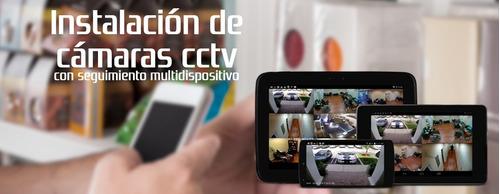 instalación cámaras de vigilancia cctv