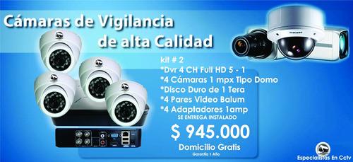 instalación cámaras de vigilancia medellín