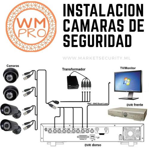instalación cámaras seguridad alarmas
