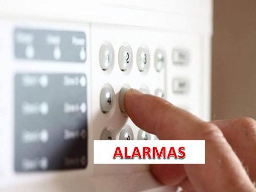 instalación cámaras seguridad, alarmas, control accesos, mas