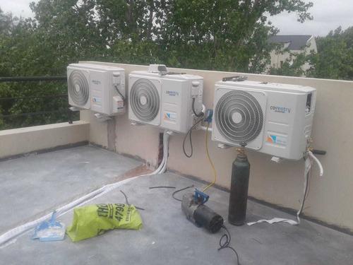 instalación carga de gas aire acondicionado zona norte oeste