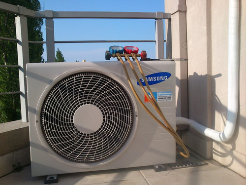 instalacion carga service aire split matriculado