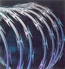 instalación cerco eléctrico concertina cámara porton acceso