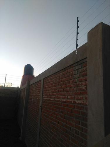 instalación cerco electrico perimetral/alarma 10 mts 6 hilos