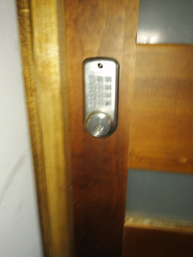 instalación cerradura digital