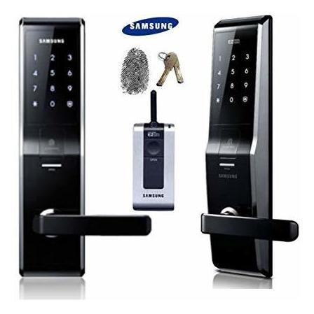 instalación cerraduras samsung puerta madera p718/705/538etc