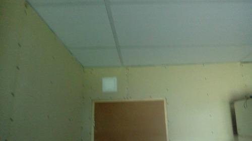 instalación cieloraso desmontable rápido liviano termico