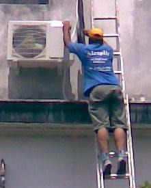 instalacion / colocacion aire acondicionado  matriculado