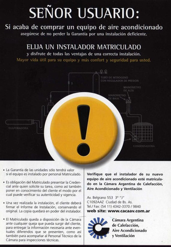 instalación-colocación aire acondicionado split matriculado