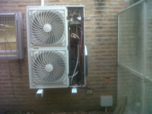 instalacion colocacion aire acondicionado split matriculado