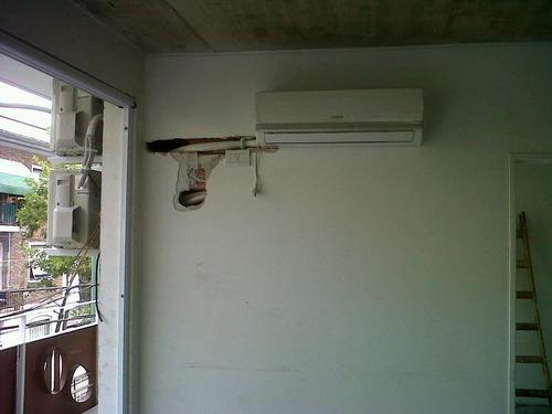 instalacion colocacion de aires acondicionado split service