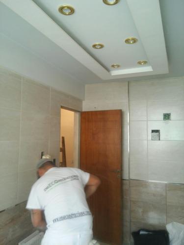 instalación colocación de durlock/tabique/cielo raso x m2