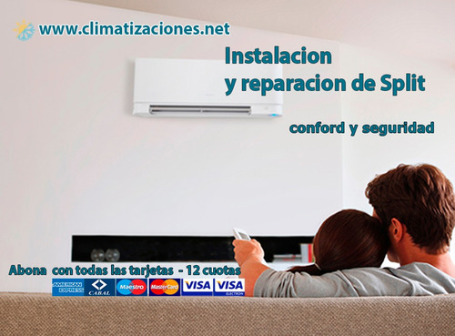 instalacion colocacion reparacion aires acondicionados split