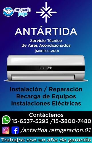 instalación colocación service aire acondicionado